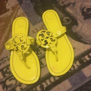 Women's Tory Burch Lime  Sandals